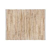 Thảm sợi đay CLAVE màu trắng 60 x 90 cm | Casa Nhà Home Furniture