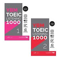 Combo YBM TOEIC Listening 1000 2 Vol (Trọn Bộ 2 Cuốn)