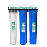 Bộ lọc nước đầu nguồn 3 giai đoạn 20inch SMYH20-3WB -Hàng chính hãng