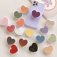 Combo 2 Phụ kiện chống lưng, giá đỡ điện thoại hình trái tim dễ thương giao màu ngẫu nhiên