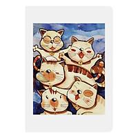 Sổ Tay Mini Band Of Cats Monosketch (14 x 9 cm)