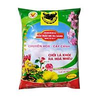 Phân bón gốc NPK đa năng Đầu Trâu - tốt cây nhiều hoa (túi 1kg)