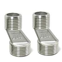 Combo 2 chân quỳ chữ Z INOX SUS304 lắp đặt cho củ sen nóng lạnh Eurolife EL-2Z