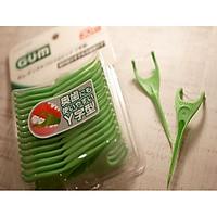 Chỉ nha khoa Sunstar Gum làm sạch các mảng bám giữa kẽ răng  - Made in Japan