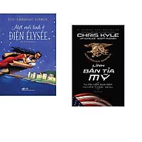 Combo 2 cuốn sách: Lính bắn tỉa Mỹ + Một mối tình ở điện Élysée