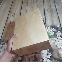 Hộp Gỗ Đựng Đồ cao cấp loại lớn (Trang Sức, Quà Tặng) bằng gỗ MDF loại 1 - 28x20x10cm