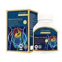 Viên Uống Giải Độc Mỡ Toàn Thân VITATREE - Organ Fat Detox - 60 Viên
