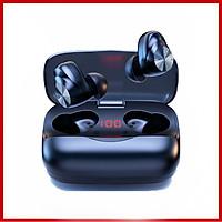 Tai Nghe Bluetooth MR-X11 Cảm Ứng True Wireless – Đàm Thoại – Chống Ồn – Đèn Led Hiển Thị % Pin - Điều Chỉnh Tăng Giảm Âm Lượng – Hàng Chính Hãng