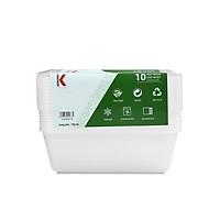 Hộp nhựa đựng thực phẩm Kokusai 750ml Lốc 10 cái