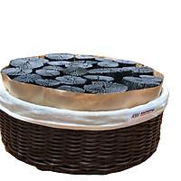 Giỏ than trang trí thương hiệu KOI Binchotan - Lọc không khí, hút ẩm, khử mùi, khử từ, hấp thụ Formandehyte - Hàng cao cấp xuất khẩu