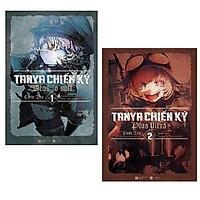 Combo 2 cuốn văn học chiến tranh cực hay: Tanya Chiến Ký 1 + Tanya Chiến Ký 2 <Tặng bookmark>
