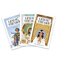 Lịch sử thế giới - Những câu chuyện, sự kiện lịch sử nổi bật được thể hiện bằng manga Tập 1,2,3- Edibooks  (Bộ 12 cuốn)