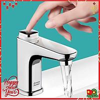 Vòi chậu rửa EasyFLO WF-T823 thương hiệu AMERICAN STANDARD – Thiết kế nút nhấn dễ mở, công nghệ Zero Lead an toàn cho sức khỏe
