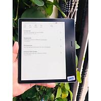 Máy đọc sách Kindle Oasis 2 / Oasis 2018 ( 32GB) Used - Likenew  - Máy 4450k,+ bao da, miếng dán