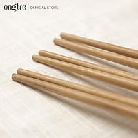 Bộ 10 đôi đũa tre / gỗ an toàn vệ sinh, sử dụng cho gia đình, nhà hàng, khách sạn | ongtre (Vietnam)
