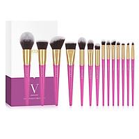 Bộ cọ trang điểm Docolor 14 cây Docolor Makeup Brush Set 14PCS Professional