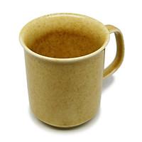 Cốc cà phê lớn   Đông Gia -  màu men  hỏa biến tự nhiên vàng bóng 36