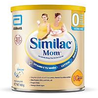 Combo 4 Lon Sữa Bột Similac Mom Hương Vani - 400g