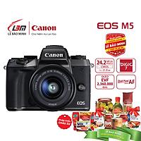 Máy ảnh Canon EOS M5 Kit EF-M15-45mm - Hàng Chính Hãng LBM