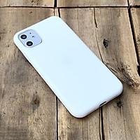 Ốp lưng dẻo trắng dành cho iPhone 11