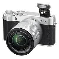 Máy Ảnh Fujifilm X-A20 Kit XC16-50mm F3.5-5.6 OIS II (Bạc)- Hàng chính hãng