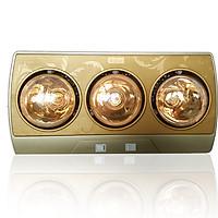 Đèn sưởi nhà tắm 3 bóng Braun Kohn KN03G - Hàng Chính Hãng