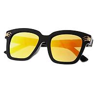 Classic Sunglasses KIDS Girls Boys Plastic Frame UV400 Black+White