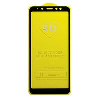Miếng dán cường lực cho Samsung Galaxy A8 Plus 9D Full màn hình - Đen