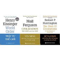 Combo Trọn Bộ 3 Cuốn Sách Tinh Hoa Về Các Nền Văn Minh Và Trật Tự Thế Giới ( Trật Tự Thế Giới + Văn Minh Phương Tây Và Phần Còn Lại Của Thế Giới + Sự Va Chạm Giữa Các Nền Văn Minh Và Sự Tái Lập Trật Tự Thế Giới ) tặng kèm bookmark Sáng Tạo