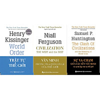 Combo Trọn Bộ 3 Cuốn Sách Tinh Hoa Về Các Nền Văn Minh Và Trật Tự Thế Giới ( Trật Tự Thế Giới + Văn Minh Phương Tây Và Phần Còn Lại Của Thế Giới + Sự Va Chạm Giữa Các Nền Văn Minh Và Sự Tái Lập Trật Tự Thế Giới ) (Tặng Notebook tự thiết kế)