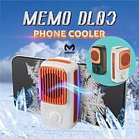 Quạt Tản nhiệt điện thoại MEMO DL-03 phong cách Retro cực đẹp làm lạnh nhanh 3 chế độ với giao diện Type-C - Hàng chính hãng