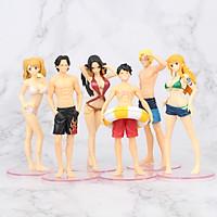Bộ Mô Hình 6 Nhân Vật One Piece OP01294