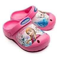 Giày Sandal Quai Nhựa Bé Gái Disney Nữ Hoàng Băng Giá Elsa FZ 104SD-FUXIA Fuxia