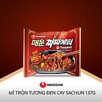 Mì Tương Đen Nongshim Cay Chapagetti Sachun 137g - Hàn Quốc