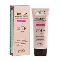 Kem chống nắng bổ sung dưỡng chất cho da nâng tone kiềm dầu Dabo Tone Up Base Sun Cream Hàn Quốc (70ml) - HÀNG CHÍNH HÃNG