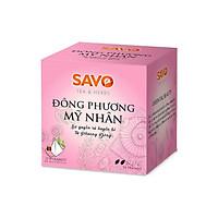 Trà SAVO Đông Phương Mỹ Nhân (Oriental Beauty Tea) - Hộp 12 Túi x 2g (Pyramid)