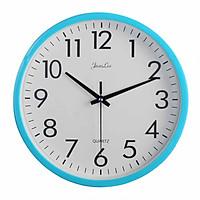 Đồng hồ treo tường tròn màu sắc tươi sáng Jeanlees