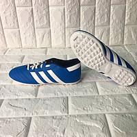 Giày đá bóng đá banh 3 sọc - 75445 màu xanh dương