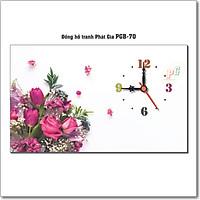 Đồng hồ tranh để bàn PGB-70