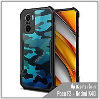 Ốp lưng cho Xiaomi Poco F3 - Redmi K40 Rzants rằn ri che camera - Hàng nhập khẩu