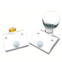 Đui đèn cảm ứng hồng ngoại thông minh siêu tiện ích