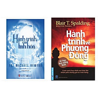 Combo 2 cuốn sách kĩ năng sống : Hành Trình Của Linh Hồn + Hành Trình Về Phương Đông ( Tặng kèm Bookmark Happy Life)