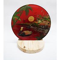 Tranh đĩa Phong cảnh Việt Nam