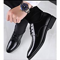 Giày tây da bò thật nam phong cách quý ông mã 8865