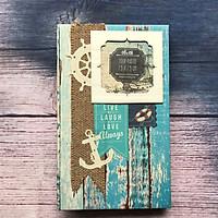 Album hình Fly album handmade đại dương xanh