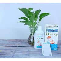 Sữa Tắm Gội Cho Bé Furomi 250ml từ 100% dược liệu thiên nhiên giúp làm sạch da, mềm da và tóc hàng ngày cho trẻ, hoàn toàn không gây cay mắt, phòng ngừa rôm rảy, viêm da (2 hộp)