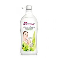 Sữa tắm trắng da Gervenne Green Lily 900gr