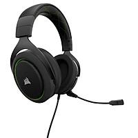 Tai nghe Corsair HS50 Stereo Green - Hàng chính hãng