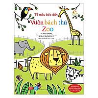 Tô Màu Bóc Dán - Vườn Bách Thú - Zoo