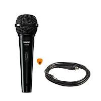 Mic Shure SV200 Có Dây Cầm Tay Hàng Chính Hãng USA Vocal Microphone Karaoke Micro SV200-Q-X - Kèm Móng Gẩy DreamMaker